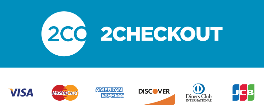 2Checkout - accepts all credit cards