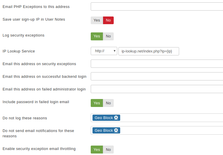 Admin Tools for Joomla! :: Web Application Firewall